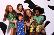 DVF with kids.
