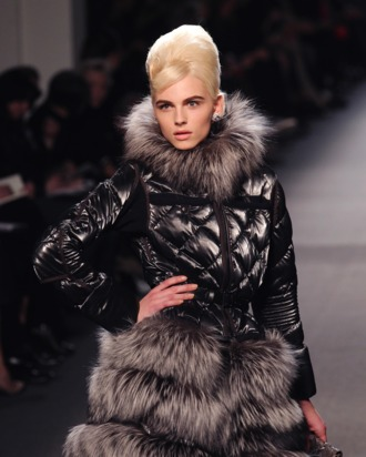 Pejic in Gaultier's fall 2011 show.
