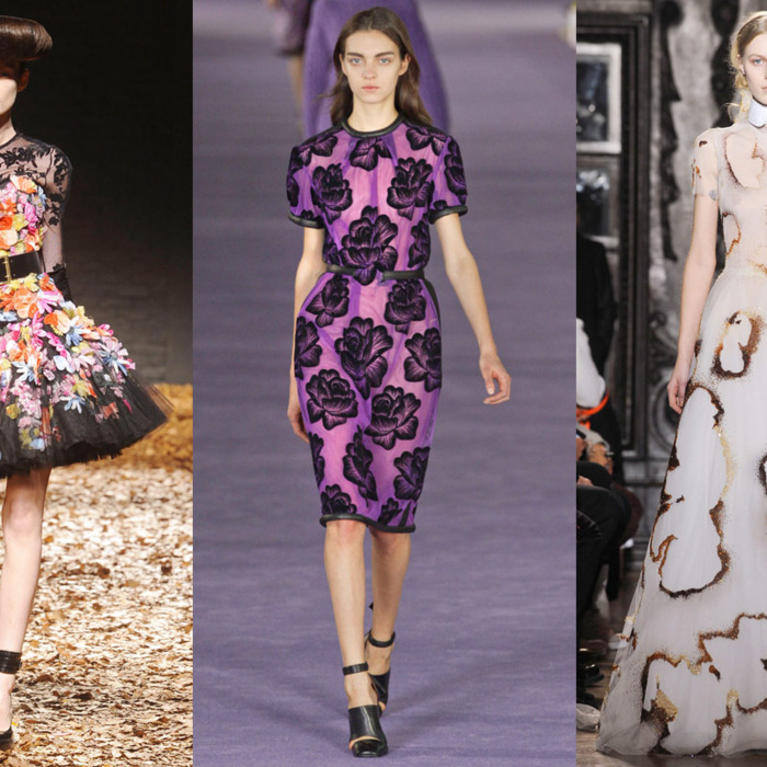 From left: McQ, Christopher Kane, Giles Deacon