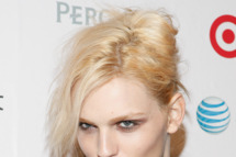 NEW YORK, NY - NOVEMBER 17: Model Andrej Pejic attends 2011 OUT100 at the Skylight SOHO on November 17, 2011 in New York City.