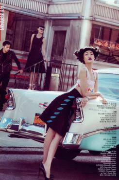 Wang Xiao for <em>Vogue China</em>