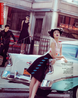 Wang Xiao for <em>Vogue China</em>