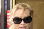 Nicollette Sheridan arrives in court