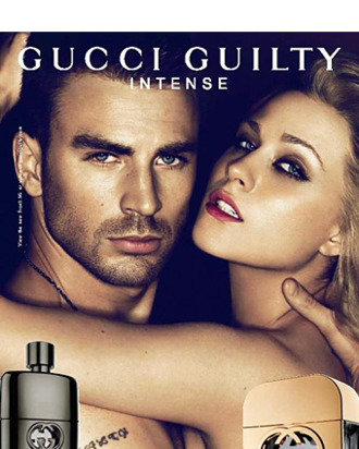 Evan Rachel Wood and Chris Evans for Gucci's latest fragrance ad.