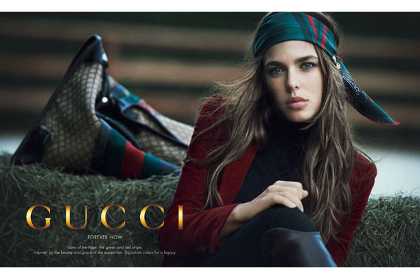Gucci's spring ads.