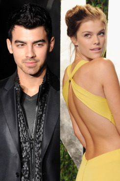 Joe Jonas and Nina Agdal.