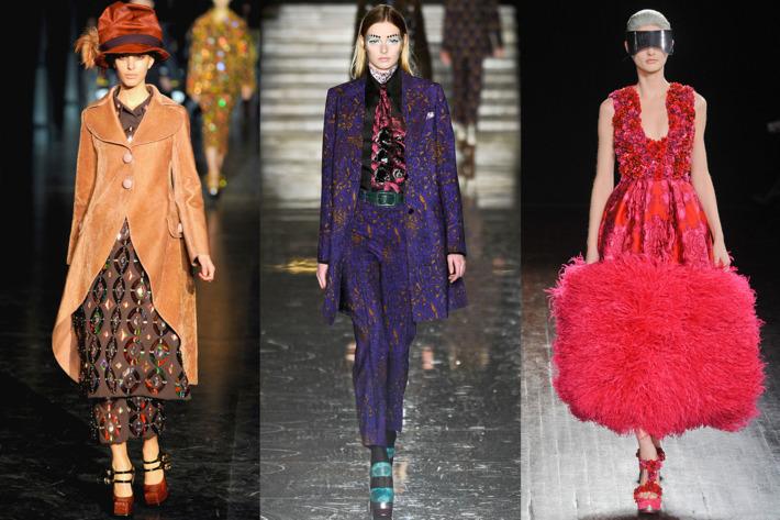 Louis Vuitton, Miu Miu, and McQueen; Imaxtree