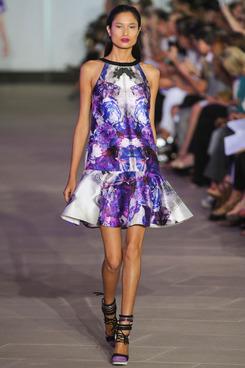 A look from Prabal Gurung's spring 2012 collection.