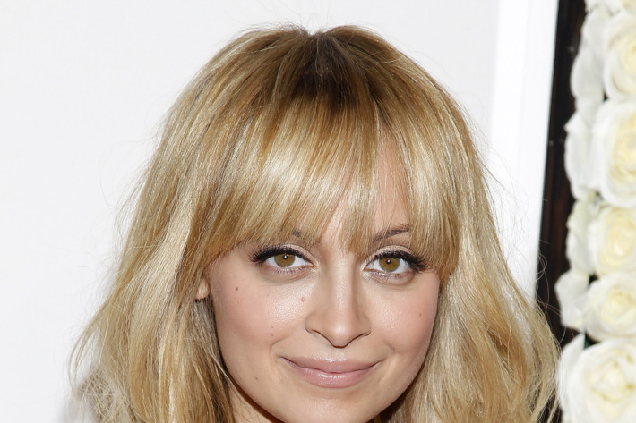 Nicole Richie: We're not sure where she puts it.
