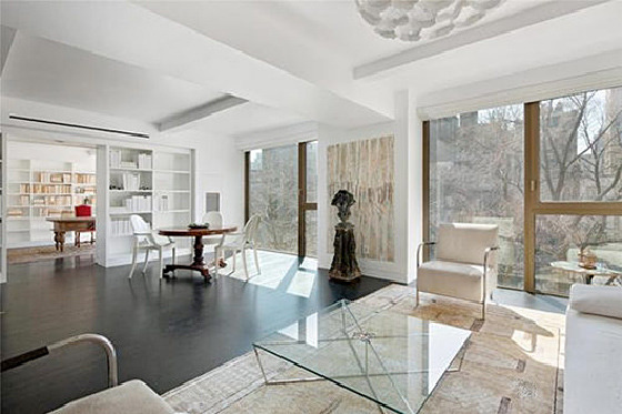 Karl Lagerfeld's apartment at 50 Gramercy North.