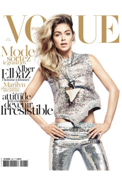 Doutzen Kroes for <em>Vogue Paris</em>.
