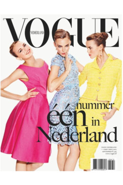 <em>Vogue Netherlands</em>'s first issue.