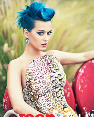 Katy Perry for <em>Teen Vogue</em>.