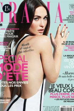 Megan Fox for <em>Grazia France</em>.