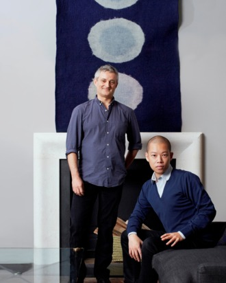 Jason Wu and Canvas founder Andrew Corrie.