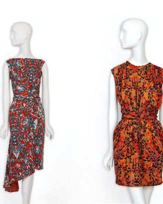 Two dresses from C&T.