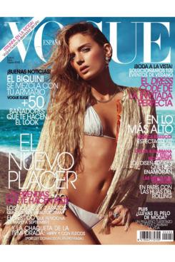 Lily Donaldson for <em>Vogue</em> Spain.