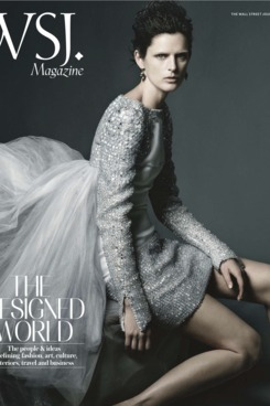 Stella Tennant in Chanel couture.