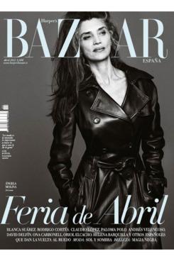Angela Molina for <em>Harper's Bazaar</em> Spain.