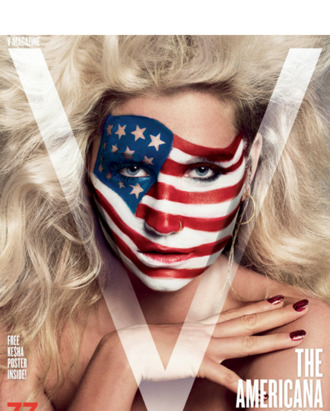 Ke$ha's V cover.