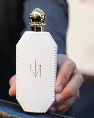 Madonna's Truth or Dare perfume bottle.
