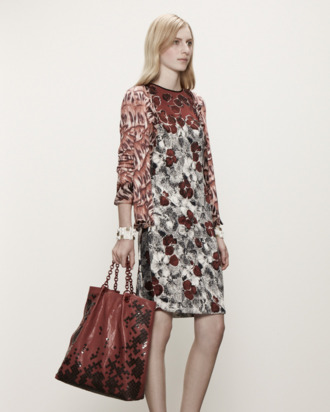 A resort 2013 look from Bottega Veneta.