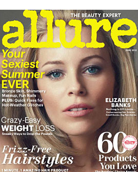 Elizabeth Banks for <em>Allure</em>.