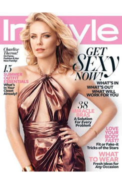 Charlize Theron for <em>InStyle</em>.
