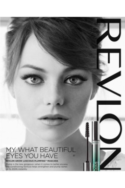 Emma Stone for Revlon.