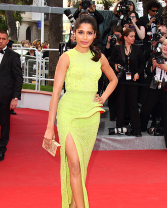 CANNES, FRANCE - MAY 17 : Freida Pinto attends the