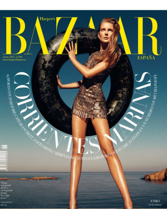 Eniko Mihalik for <em>Harper's Bazaar</em> Spain.