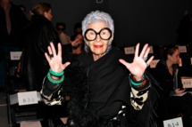 NEW YORK, NY - FEBRUARY 15: Iris Apfel attends the Joanna Mastroianni Fall 2012 fashion show during Mercedes-Benz Fashion Week at the The Studio at Lincoln Center on February 15, 2012 in New York City. (Photo by Charles Eshelman/FilmMagic)
