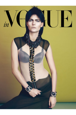 Karolin Wolter for <em>Vogue</em> Germany.