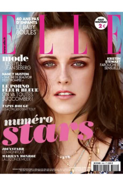 Kristen Stewart for French <em>Elle</em>.