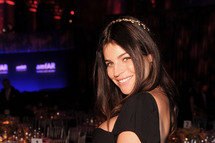 NEW YORK, NY - FEBRUARY 08: Julia Restoin Roitfeld attends the amfAR New York Gala To Kick Off Fall 2012 Fashion Week at Cipriani Wall Street on February 8, 2012 in New York City. (Photo by Jamie McCarthy/Getty Images)