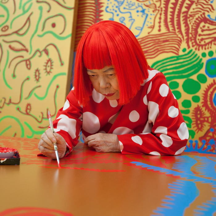 Yayoi Kusama.