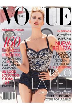 Karolina Kurkova for <em>Vogue</em> Mexico.
