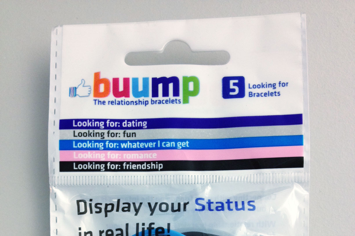 Buump's 'Relationship Bracelets' Tell Others Whether You're Single ...