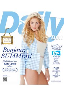 Kate Upton for <em>The Daily Dan</em>