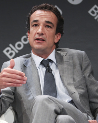 Olivier Sarkozy, managing director and head of Carlyle Global Financial Services Partners, speaks during the Bloomberg Markets Global Hedge Fund and Investor Summit in New York, U.S., on Wednesday, May 5, 2010. The summit will debate challenges and opportunities for economic growth in the year ahead. Photographer: Daniel Acker/Bloomberg via Getty Images *** Local Caption *** Olivier Sarkozy