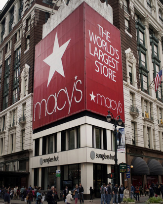 Macy's in New York City.