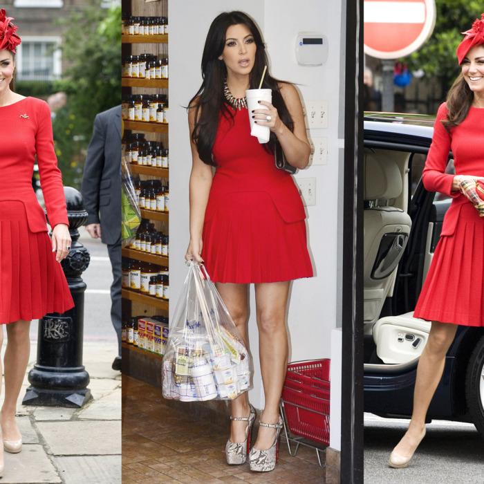 Kate Middleton vs. Kim Kardashian.