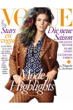 Kendra Spears for German <em>Vogue</em>.