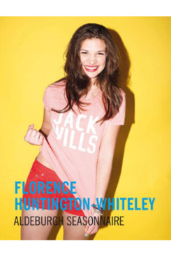 Florence Huntington-Whiteley for Jack Wills.