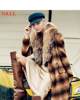 Kate Upton: the <em>Vogue</em> version.