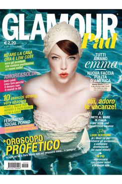 Emma Stone for <em>Glamour</em> Spain.