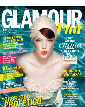 Emma Stone for <em>Glamour</em> Spain.