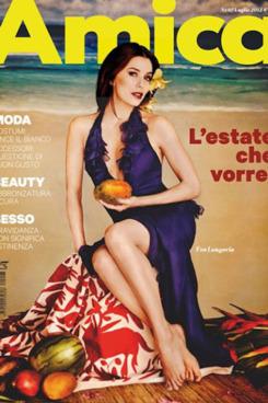 Eva Longoria for <em>Amica</em>.