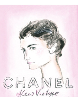 Chanel's Haute Couture invitation.