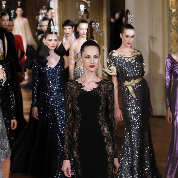 Alexis Mabille's fall 2012 haute couture collection.